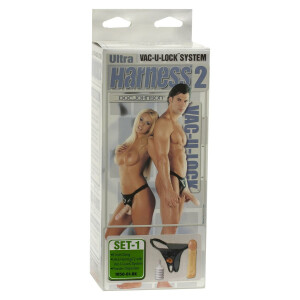 STRAP-ON HARNESS 8 INCH DONG