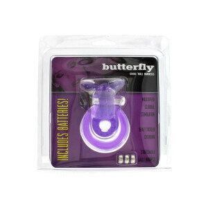 ANELLI FALLICI COCK&BALL BUTTERFLY JELLY VIBE