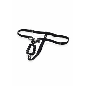 STRAP-ON MIT VIBRATION LOVERS THONG