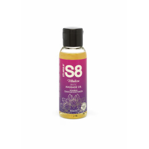 S8 Massage Oil 50ml Lime Spicy Ginger