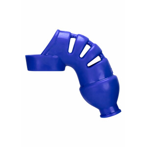 Lockdown Chastity Cage BLUE